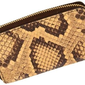 Céline Python Zip Around Wallet 226389